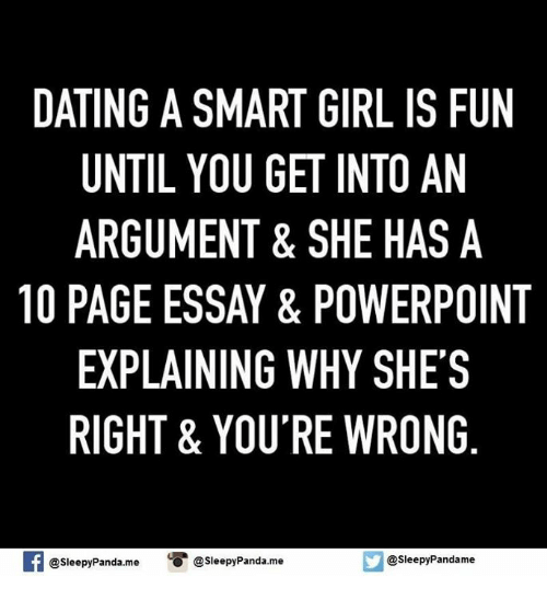 Of A Girl Smart Dating Cons