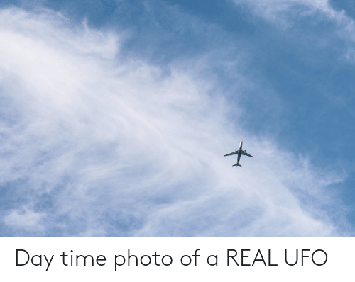 ufo: Day time photo of a REAL UFO