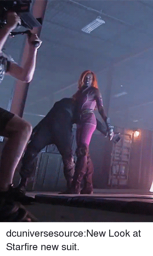 starfire: dcuniversesource:New Look at Starfire new suit.