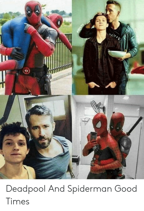 Deadpool: Deadpool And Spiderman Good Times