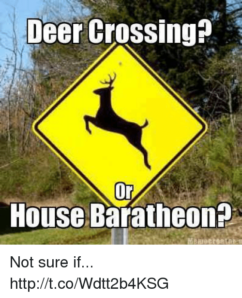Deer, House, and Http: Deer Crossing?  Or  House Baratheon Not sure if... http://t.co/Wdtt2b4KSG