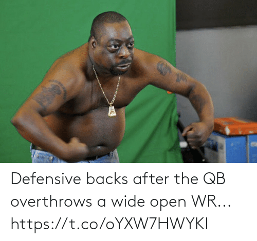 After The: Defensive backs after the QB overthrows a wide open WR... https://t.co/oYXW7HWYKl