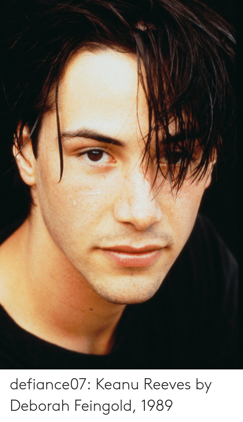 Tumblr, Blog, and Http: defiance07: Keanu Reeves by Deborah Feingold, 1989
