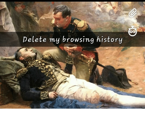 how to really delete browsing history