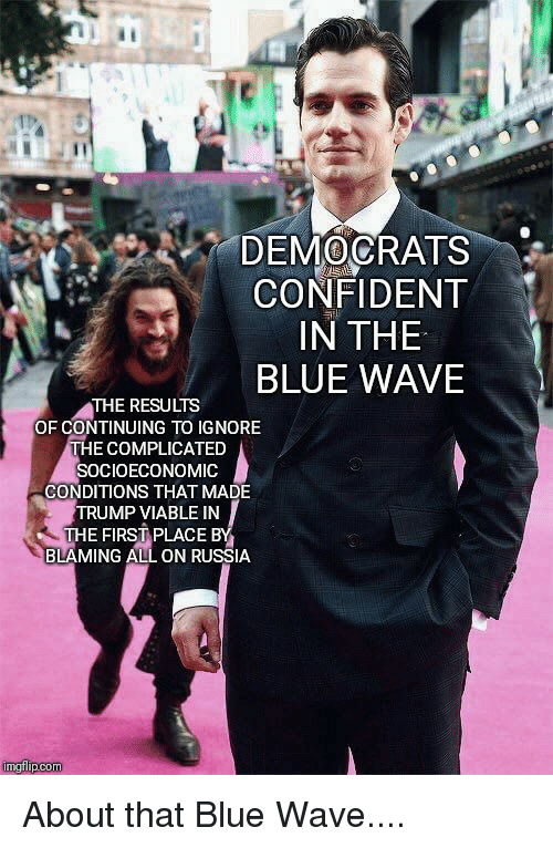 about that blue wave
