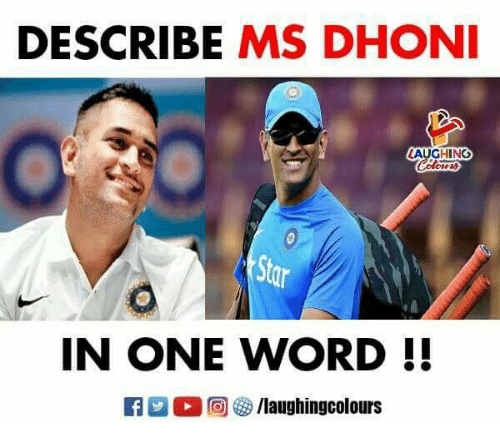 Word, Indianpeoplefacebook, and One: DESCRIBE MS DHON  AUGHING  IN ONE WORD !!
