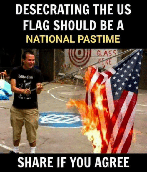 an analysis of the desecration of the united states flag The laws relating to the flag of the united states of america are found in detail in the united states code title 4, chapter 1 pertains to the flag title 18, chapter 33, section 700 regards criminal penalties for flag desecration title 36, chapter 3 pertains to patriotic customs and observances.