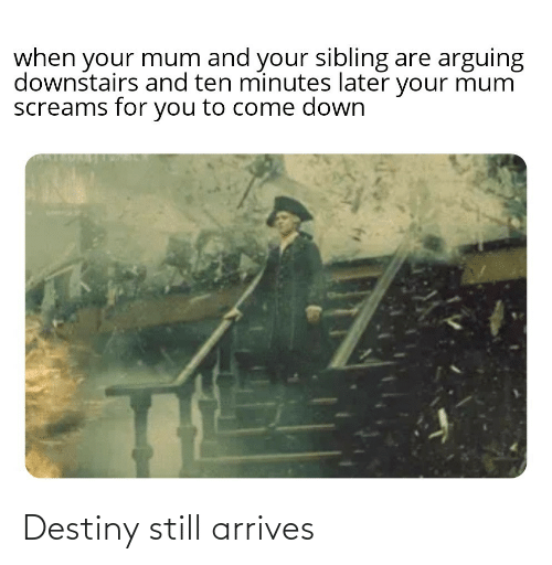 destiny: Destiny still arrives