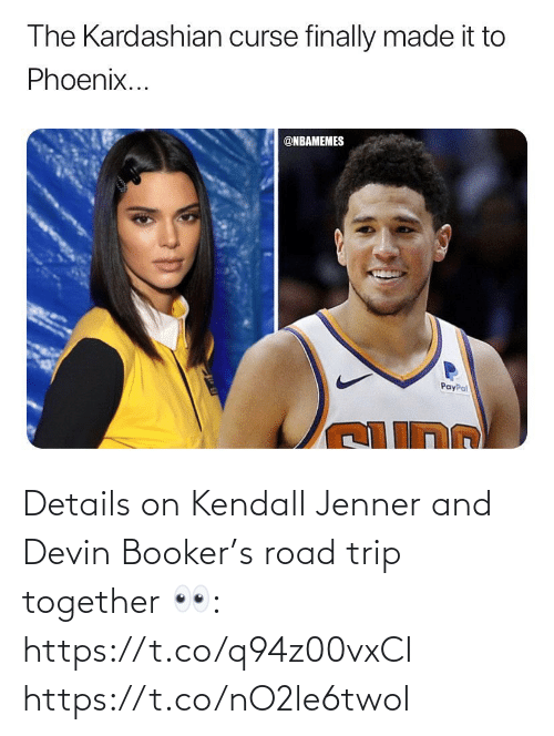 Kendall Jenner: Details on Kendall Jenner and Devin Booker's road trip together 👀: https://t.co/q94z00vxCI https://t.co/nO2le6twoI