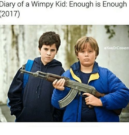 Enough Is Enough: Diary of a Wimpy Kid: Enough is Enough  (2017)  KINGOFCOONERY