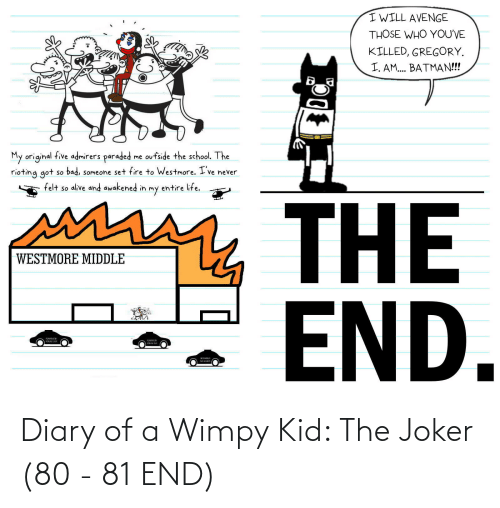 wimpy kid: Diary of a Wimpy Kid: The Joker (80 - 81 END)