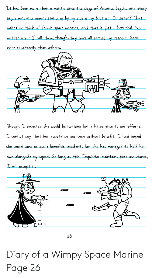 wimpy: Diary of a Wimpy Space Marine Page 26