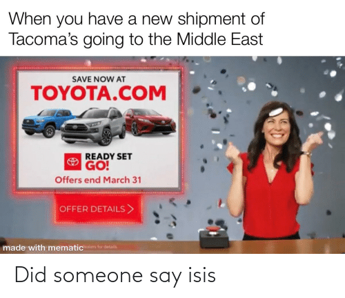 ISIS: Did someone say isis