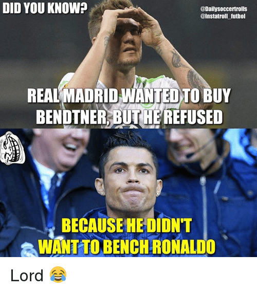 Memes, 🤖, and Refused: DID YOU KNOW? @Daily Soccertrolls ... Funny Football Trolls 2017