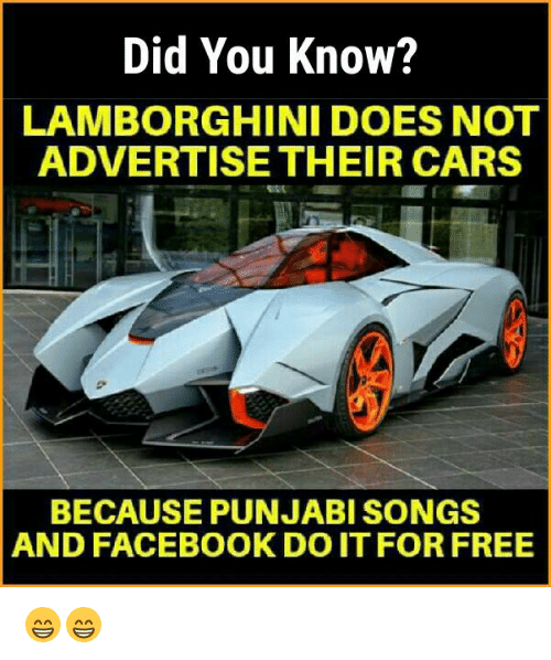 Did You Know? LAMBORGHINI DOES NOT ADVERTISE THEIR CARS