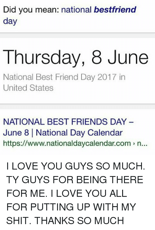 🔥 25+ Best Memes About National Best Friends Day | National Best