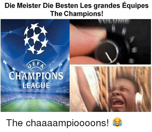 champions league meister