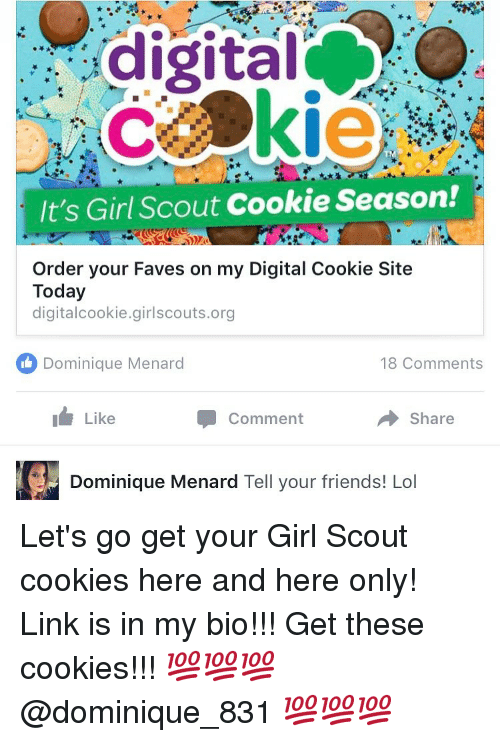 digital it s girl scout cookie season order your faves on