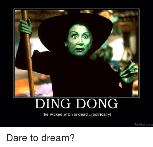 DING DONG The Wicked Witch Is Deadpolitically