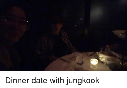 dinner date: Dinner date with jungkook