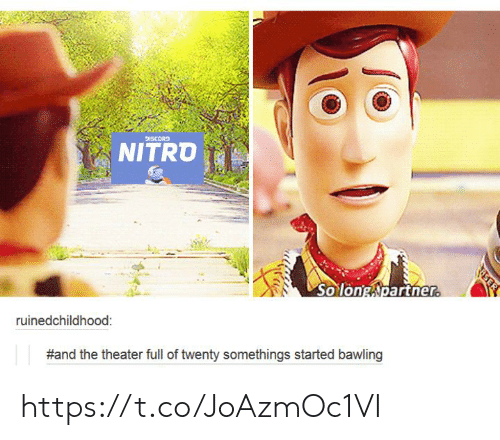 discord: DISCORD  NITRO  So long Npartner.  ruinedchildhood:  #and the theater full of twenty somethings started bawling  EER https://t.co/JoAzmOc1VI