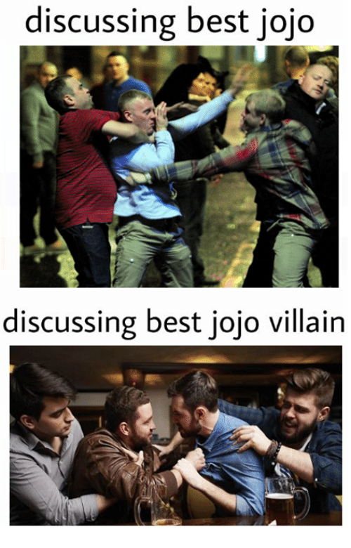 🤖: discussing best jojo  discussing best jojo villain