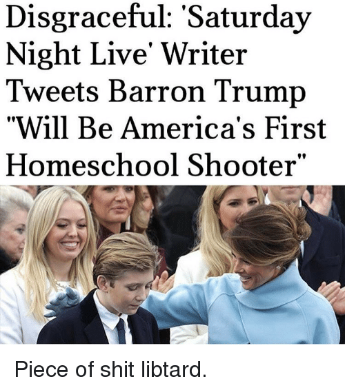 news politics writer barron trump tweet
