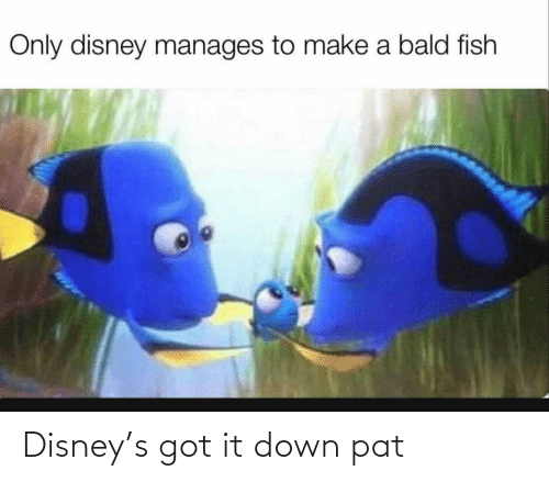 Disney: Disney's got it down pat