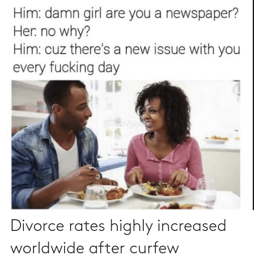 Divorce: Divorce rates highly increased worldwide after curfew