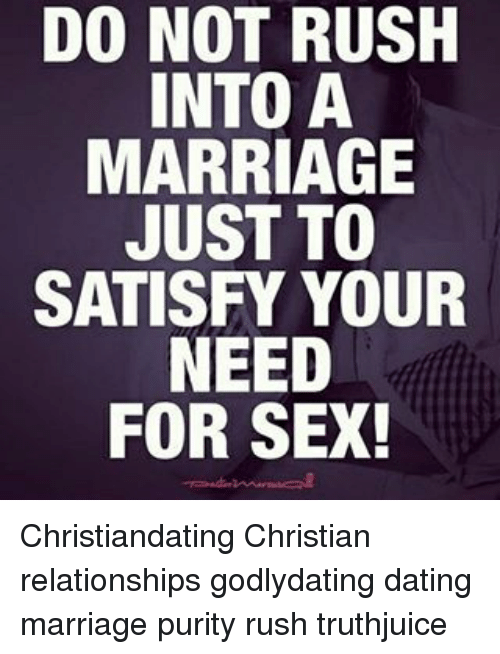 Christian dating sex before marriage