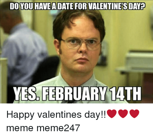 Funny Valentines Memes of 2017 on SIZZLE | Valentines Day Meme