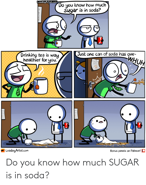 How Much: Do you know how much SUGAR is in soda?