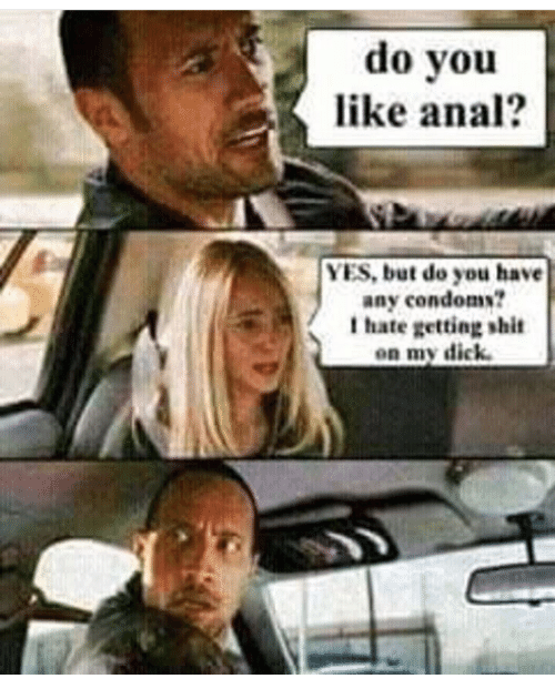 Anal Shit On My Dick