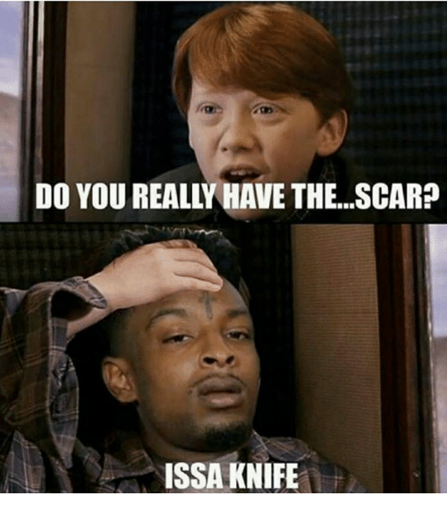 Issa Knife: DO YOU REALLHAVE THE..SCAR?  ISSA KNIFE