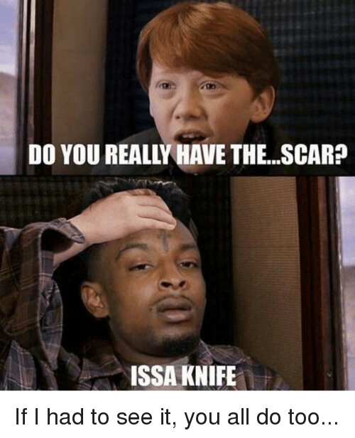 Issa Knife: DO YOU REALLY HAVE THE. .SCAR?  ISSA KNIFE