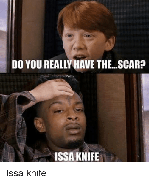 Issa Knife: DO YOU REALLY HAVE THE...SCAR?  ISSA KNIFE