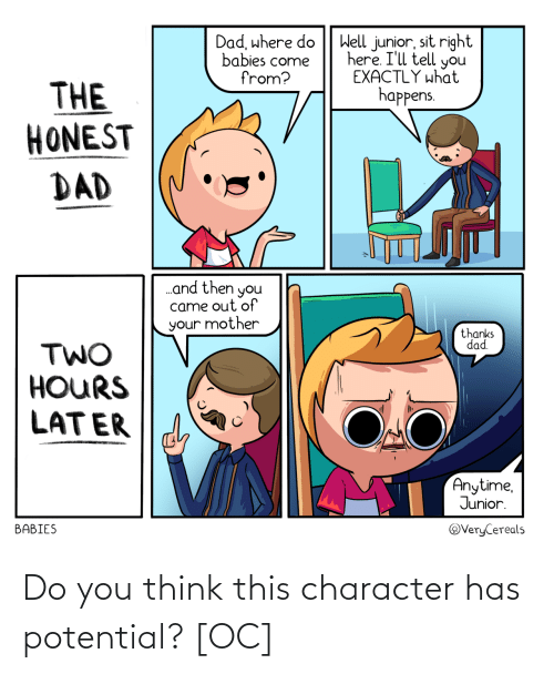 potential: Do you think this character has potential? [OC]