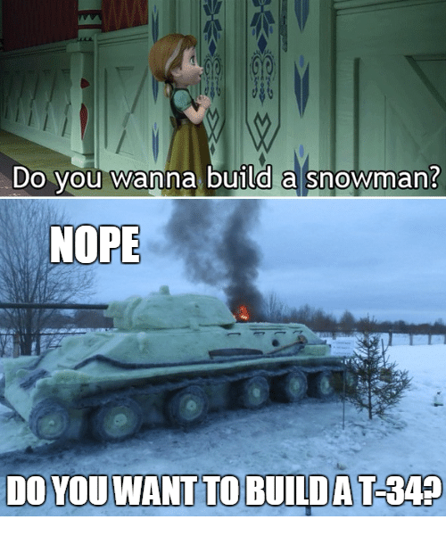 Do you wanna build a snowman nope do you want to for What do u need to build a house