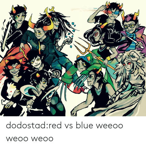 Target, Tumblr, and Blog: dodostad:red vs blue weeoo weoo weoo