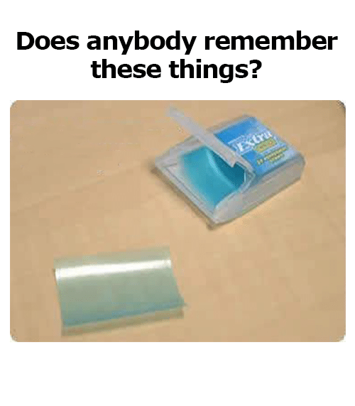 Memes, 🤖, and Remember: Does anybody remember  these things?
