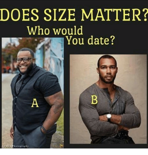 Size matters speed dating