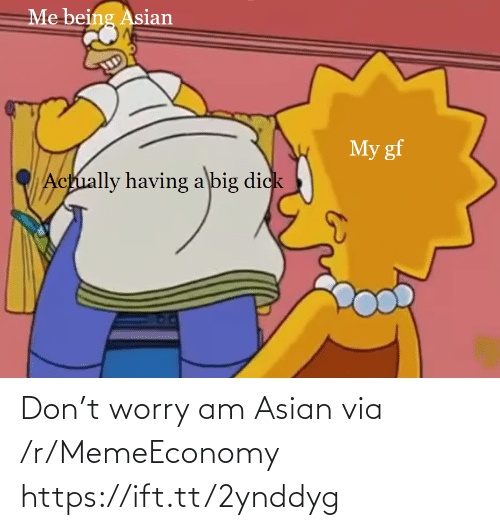 Asian: Don't worry am Asian via /r/MemeEconomy https://ift.tt/2ynddyg