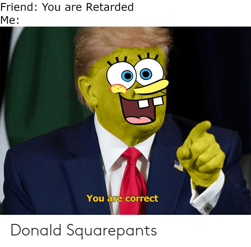 donald: Donald Squarepants