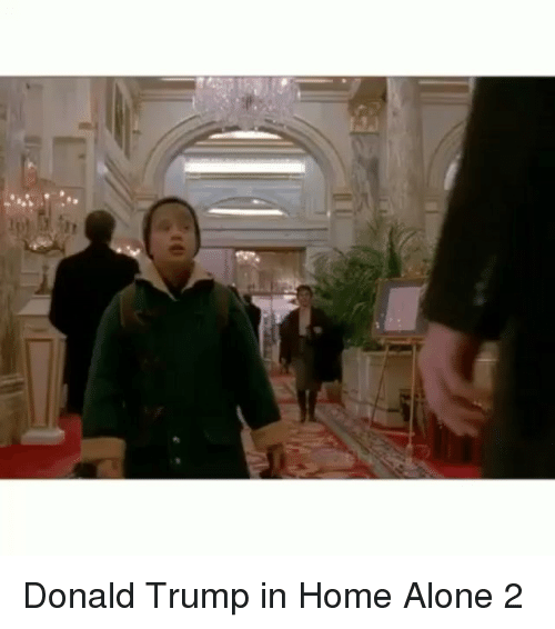 Donald Trump In Home Alone: Donald Trump in Home Alone 2
