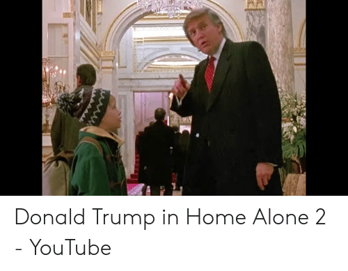 Donald Trump In Home Alone: Donald Trump in Home Alone 2 - YouTube