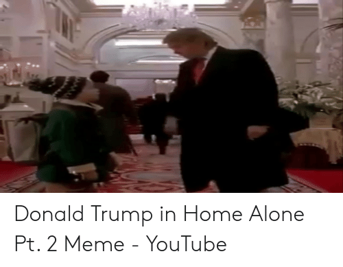 Donald Trump In Home Alone: Donald Trump in Home Alone Pt. 2 Meme - YouTube