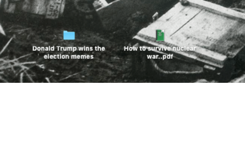 Election Memes: Donald Trump wins the  How  to suANe clea  election memes  war..pdf