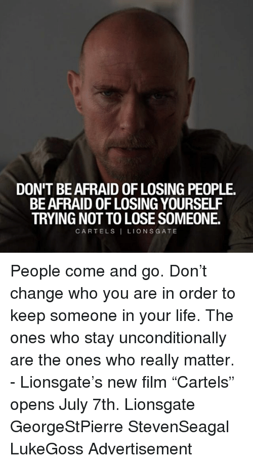 how to make someone afraid to lose you