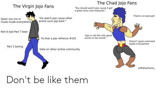 Don't Be Like: Don't be like them