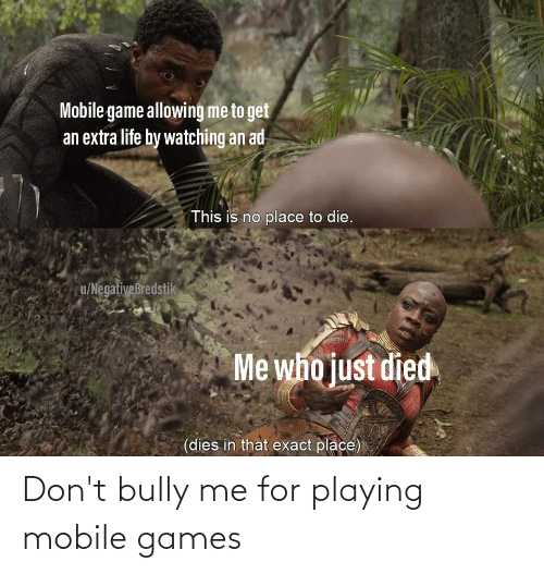 mobile games: Don't bully me for playing mobile games